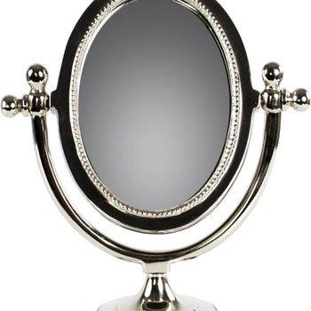 Decoratieve spiegel op voet