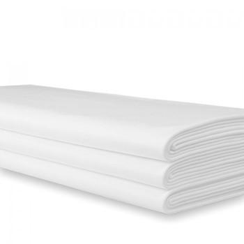 150cm x 250cm damast wit