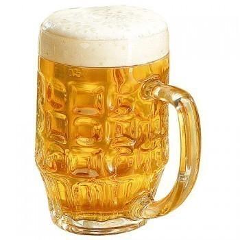 Bierkan / Bierglas 0,4l