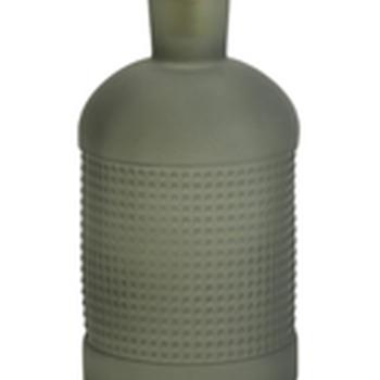 Vaas - Fles grijsgroen