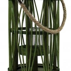 Windlicht gras groen