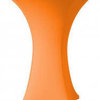 Statafel hoes strecht oranje