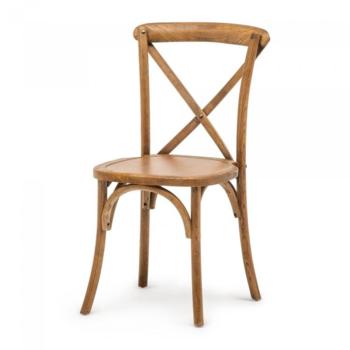 Crossback chair zonder kussen