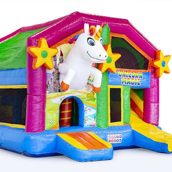Unicorn XXL 5,4m x 4m x5m (b x h x l) weekenddag of feestdag