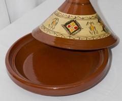 Tajine (aardewerk marokaanse inport)