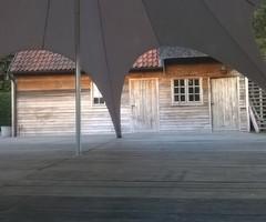 Plankenvloer (4m x 0,5m) 2m² geplaatst