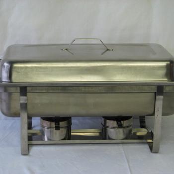 Tafel Bain-marie / Shaving-dish gastronorm (inh.2x 3,5l of 1x 7l)