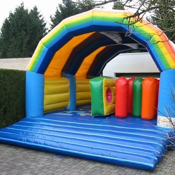 Rainbow hindernissen 5m x 7m x 3,85m (b x h x l) (weekend)