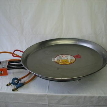 Paellabrander tafelmodel 80 pers.