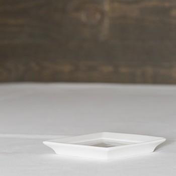 Hapjesbord vierkant strak 10cm