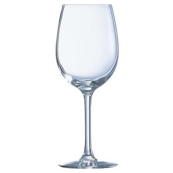 Rode wijnglas luxe